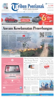 Tribun Pontianak Cover 20 July 2019