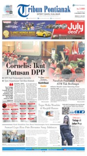 Tribun Pontianak Cover 21 July 2019