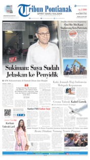 Tribun Pontianak Cover 23 July 2019