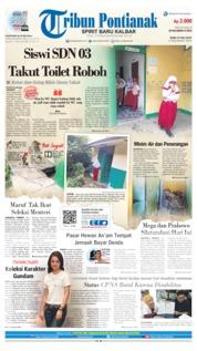 Tribun Pontianak Cover 24 July 2019