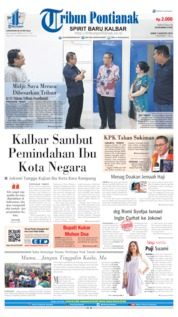 Tribun Pontianak Cover 02 August 2019