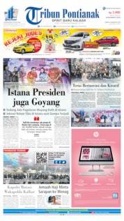 Tribun Pontianak Cover 03 August 2019