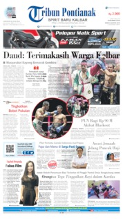 Tribun Pontianak Cover 05 August 2019