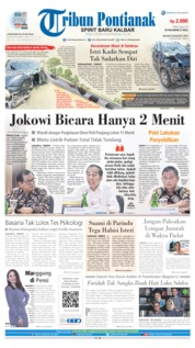 Tribun Pontianak Cover 06 August 2019