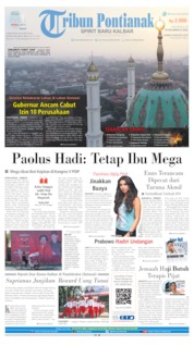 Tribun Pontianak Cover 08 August 2019