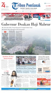 Tribun Pontianak Cover 12 August 2019