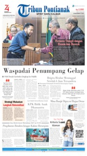 Tribun Pontianak Cover 13 August 2019