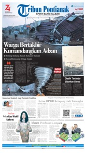 Tribun Pontianak Cover 14 August 2019