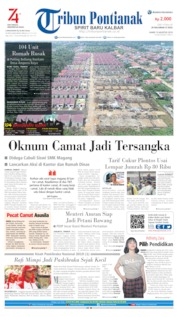 Tribun Pontianak Cover 15 August 2019