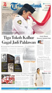 Tribun Pontianak Cover 16 August 2019
