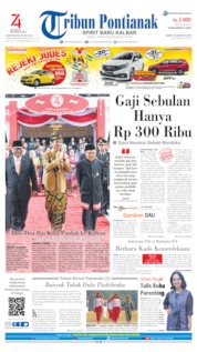 Tribun Pontianak Cover 17 August 2019