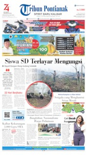 Tribun Pontianak Cover 19 August 2019