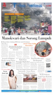 Tribun Pontianak Cover 20 August 2019