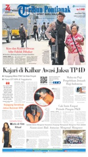 Tribun Pontianak Cover 22 August 2019