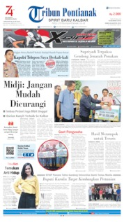 Tribun Pontianak Cover 26 August 2019