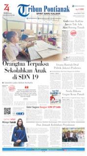 Cover Tribun Pontianak 29 Agustus 2019