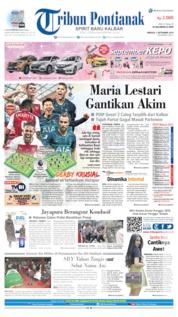 Cover Tribun Pontianak 01 September 2019