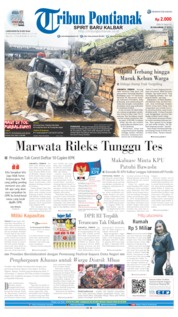 Cover Tribun Pontianak 03 September 2019