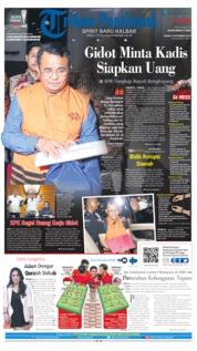 Cover Tribun Pontianak 05 September 2019