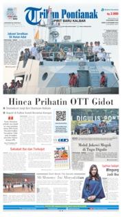 Cover Tribun Pontianak 06 September 2019