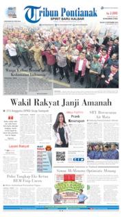 Tribun Pontianak Cover 10 September 2019