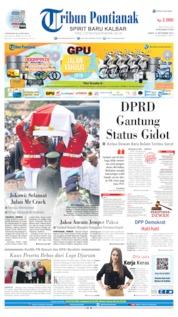 Cover Tribun Pontianak 13 September 2019