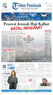 Cover Tribun Pontianak 16 September 2019
