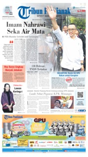 Tribun Pontianak Cover 20 September 2019