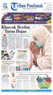 Tribun Pontianak Cover 22 September 2019
