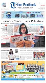 Cover Tribun Pontianak 23 September 2019