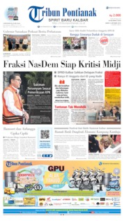 Tribun Pontianak Cover 04 October 2019