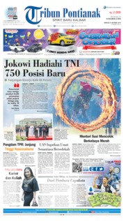 Tribun Pontianak Cover 06 October 2019
