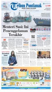 Tribun Pontianak Cover 07 October 2019