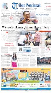 Tribun Pontianak Cover 11 October 2019