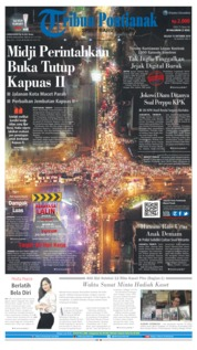 Tribun Pontianak Cover 15 October 2019