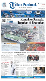 Tribun Pontianak Cover 16 October 2019