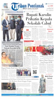Tribun Pontianak Cover 17 October 2019