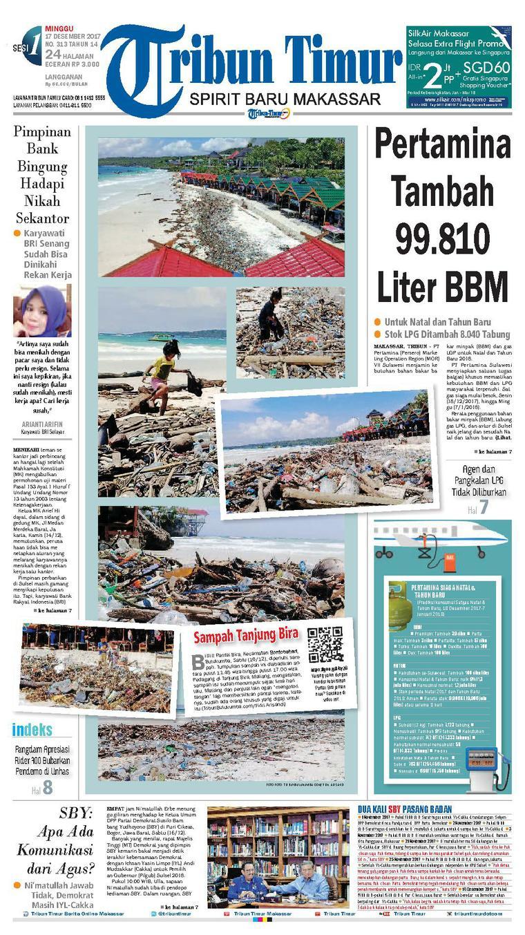 Koran Digital Tribun Timur 17 Desember 2017