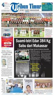Tribun Timur Cover 18 March 2018