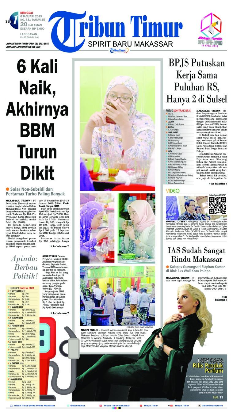 Koran Digital Tribun Timur 06 Januari 2019
