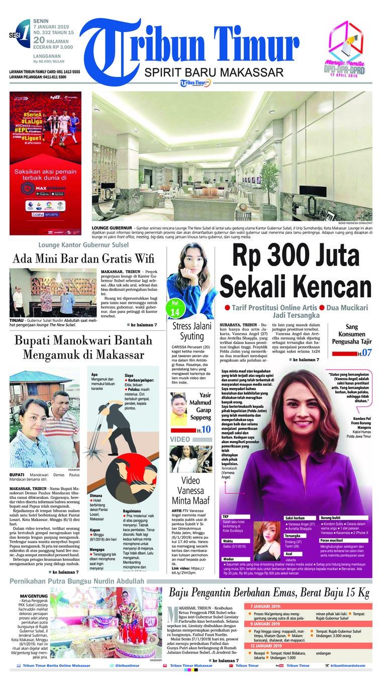 Koran Digital Tribun Timur 07 Januari 2019
