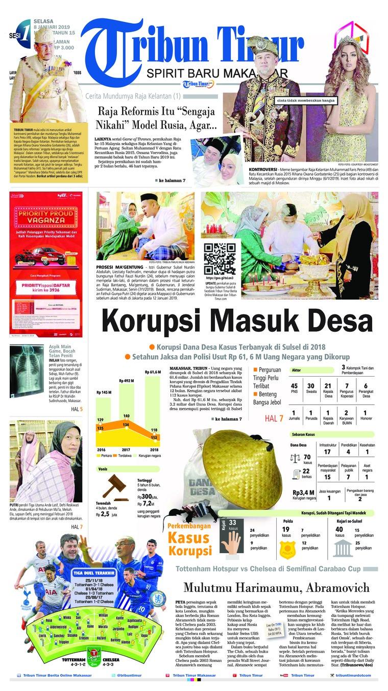 Koran Digital Tribun Timur 08 Januari 2019