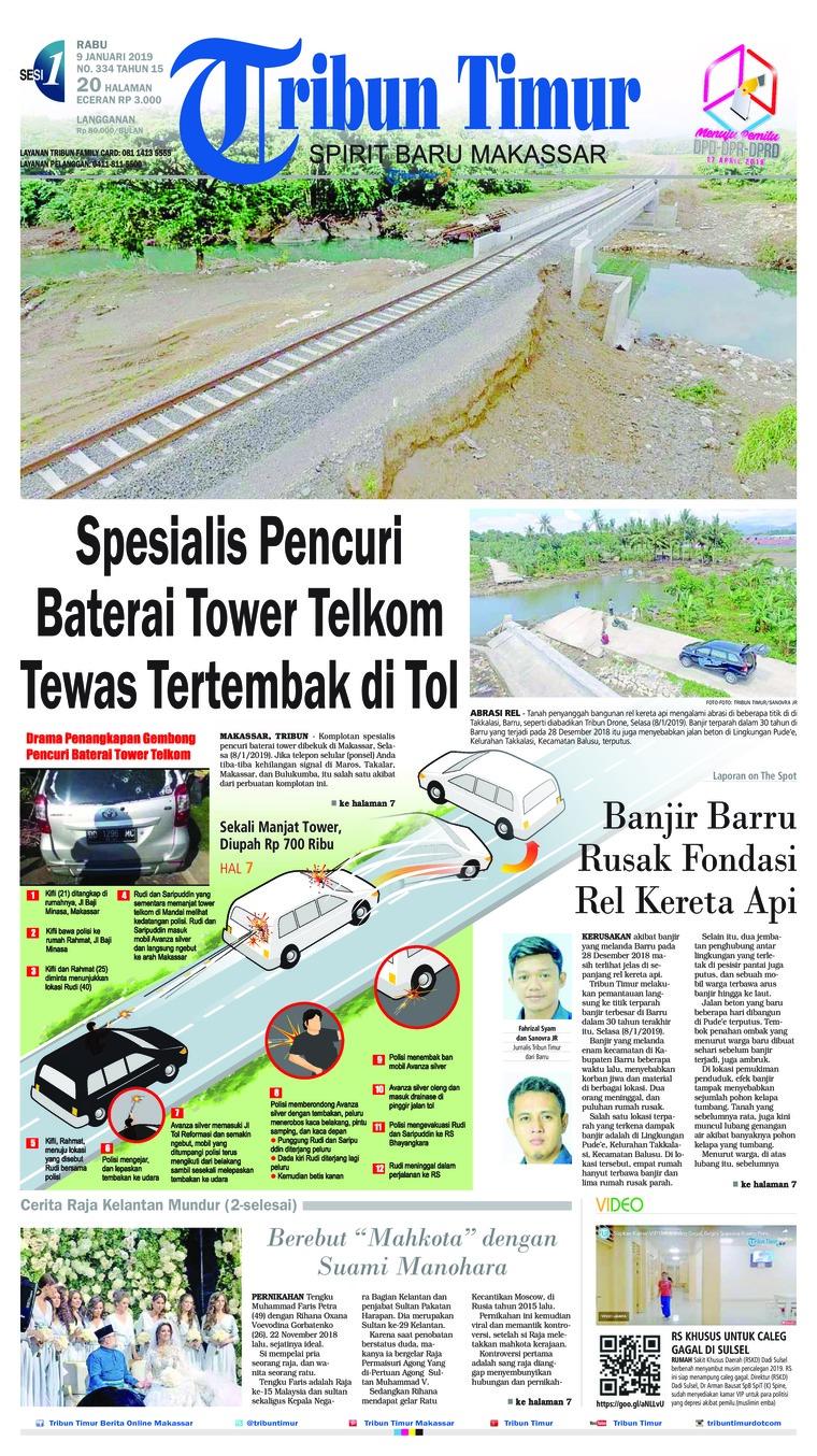 Tribun Timur Digital Newspaper 09 January 2019