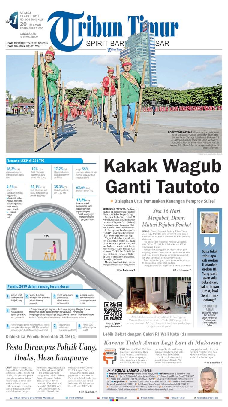 Koran Digital Tribun Timur 23 April 2019