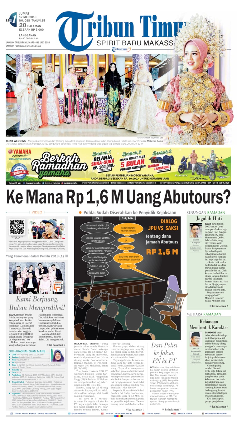 Tribun Timur Digital Newspaper 17 May 2019