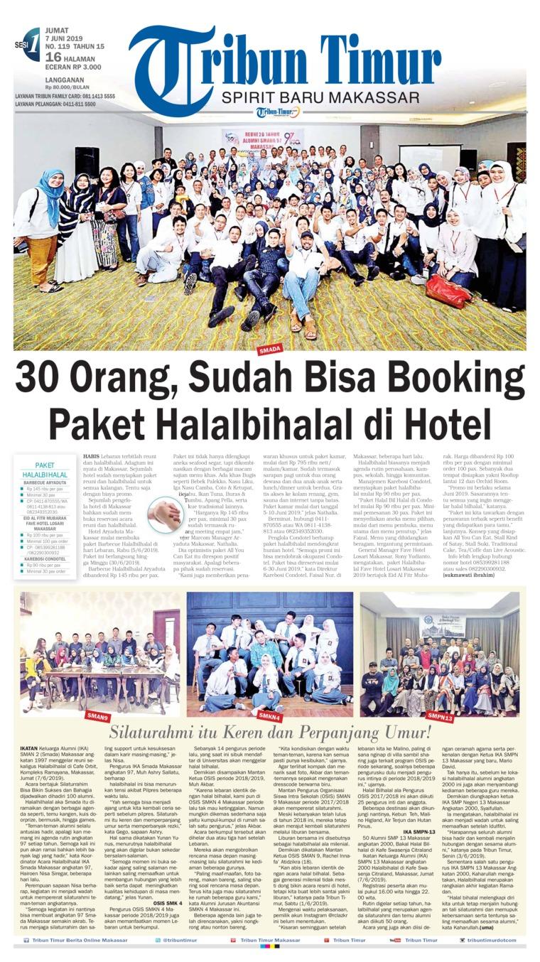 Tribun Timur Digital Newspaper 07 June 2019