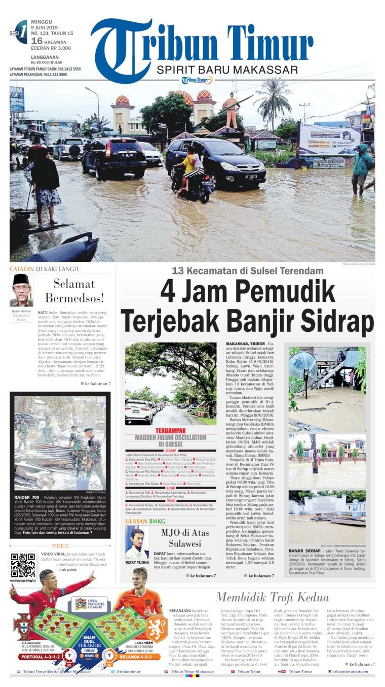 Tribun Timur Digital Newspaper 09 June 2019