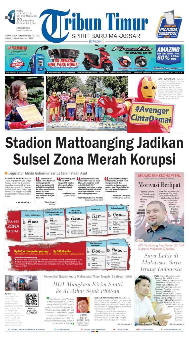 Tribun Timur Digital Newspaper 19 June 2019