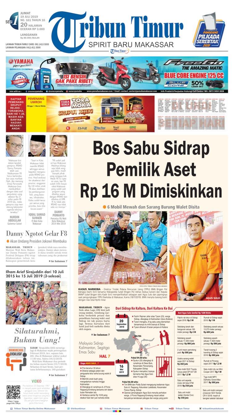 Tribun Timur Digital Newspaper 19 July 2019