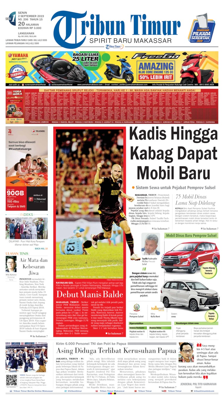 Koran Digital Tribun Timur 02 September 2019